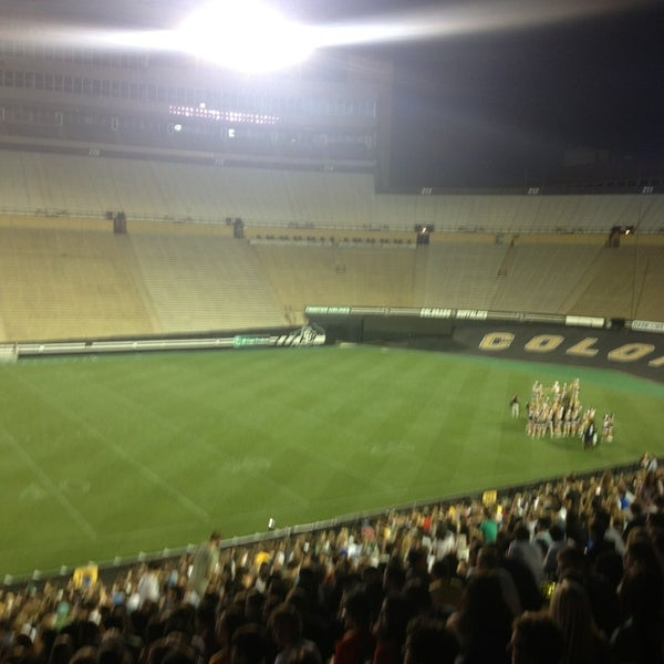 Photo taken at Folsom Field by Conrad on 8/23/2013
