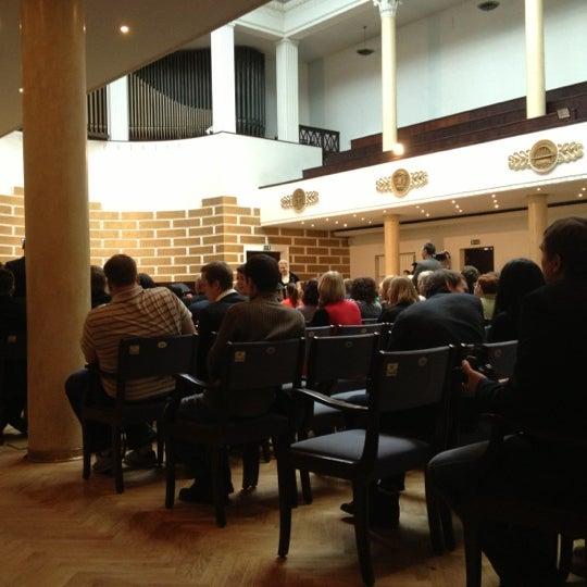 Photo taken at University of Latvia by Luīze on 2/23/2013