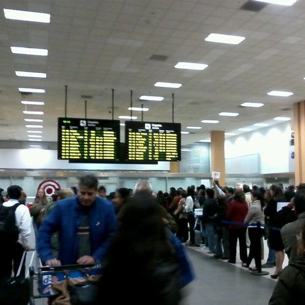 Photo taken at Jorge Chávez International Airport (LIM) by Carlos Miguel M. on 7/23/2013