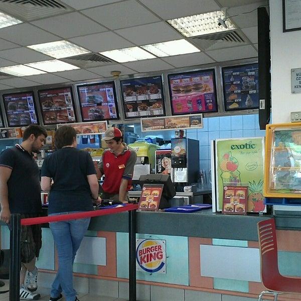 Photo taken at Burger King by Caglar on 7/7/2013