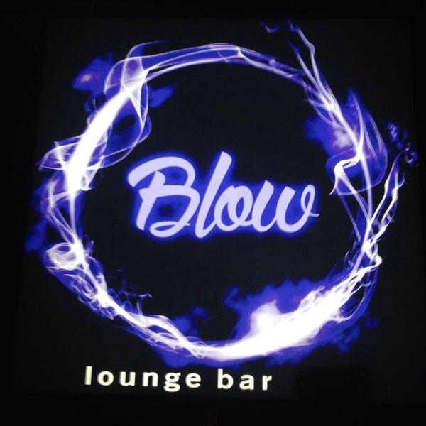 blow lounge bar москва