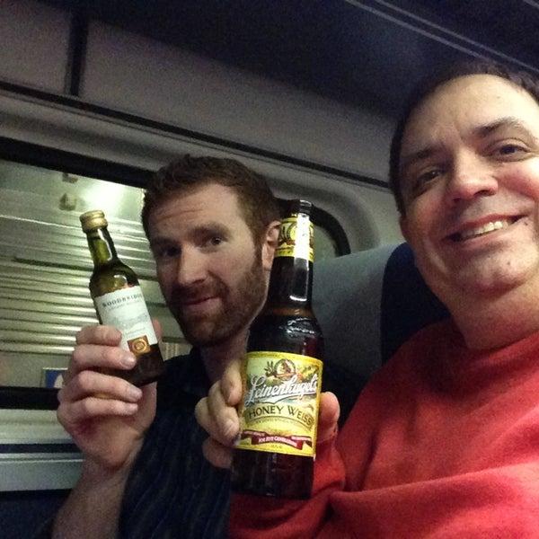 Photo taken at Hiawatha 339 Marty's Beverage Car by Rick L. on 3/22/2013