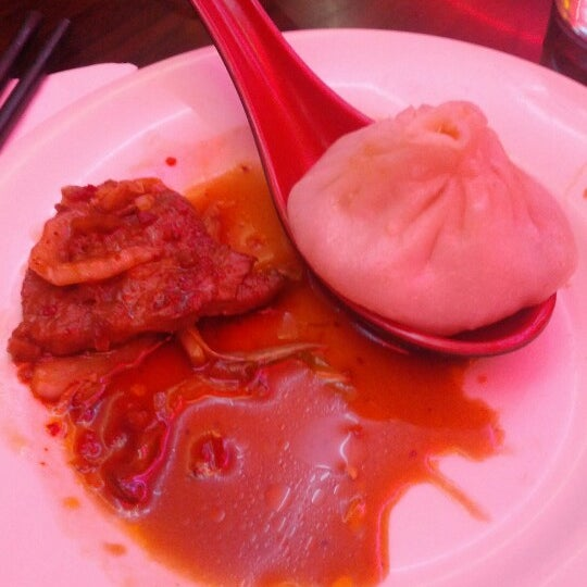 Photo taken at Shanghai Café Deluxe by Aileen R. on 10/13/2012