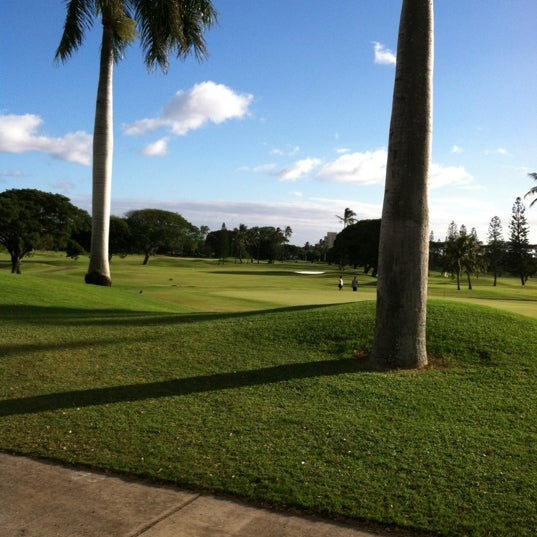 Photo taken at Navy Marine Golf Course by Paul X. on 10/30/2012