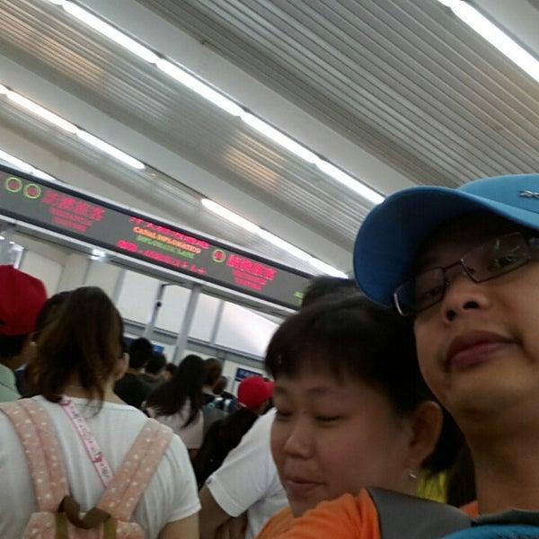 Photo taken at Taipa Ferry Terminal by Suharni S. on 8/11/2013