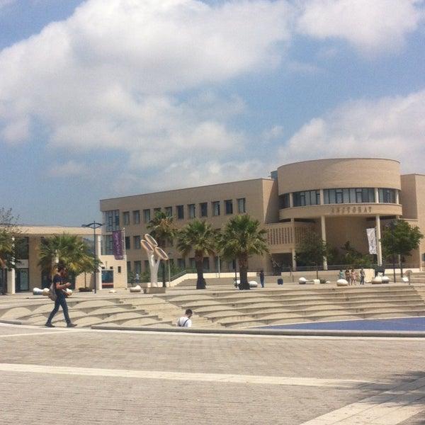Photo taken at Universitat Jaume I (UJI) by Tuğçe E. on 7/1/2014