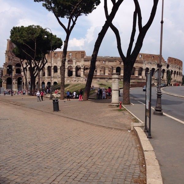 Photo taken at Piazza del Colosseo by Александр👺 on 7/9/2013