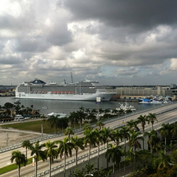 port everglades how to change terminals