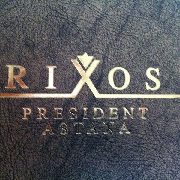 5/13/2013 tarihinde Mikhail K.ziyaretçi tarafından Rixos President Astana'de çekilen fotoğraf