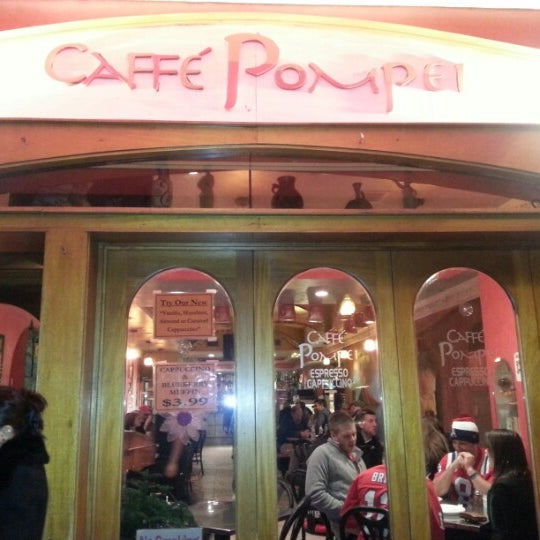 Photo taken at Caffe Pompei by Steve on 1/19/2013