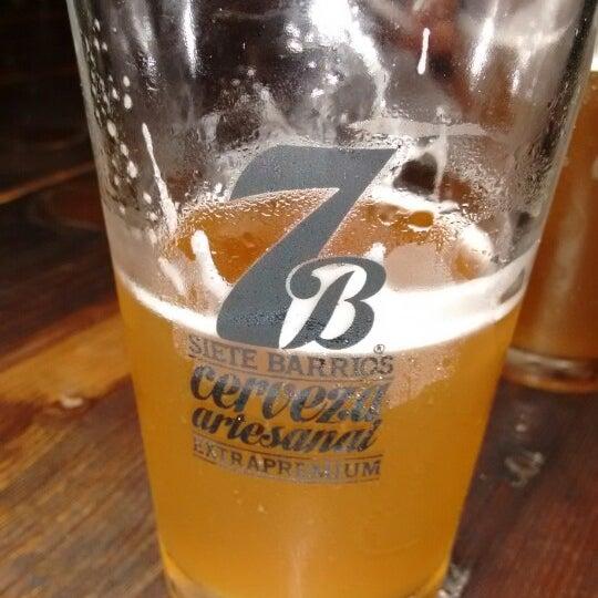 Foto tomada en Cervecería 7B por Paco T. el 7/5/2015