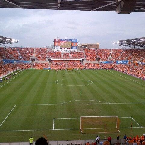 Photo prise au BBVA Compass Stadium par James J. le11/11/2012