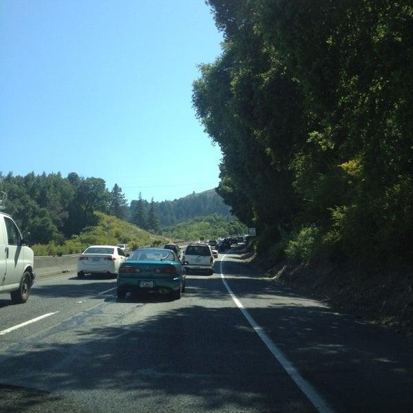 Photo taken at Santa Cruz Mountains by Ruth on 4/20/2013