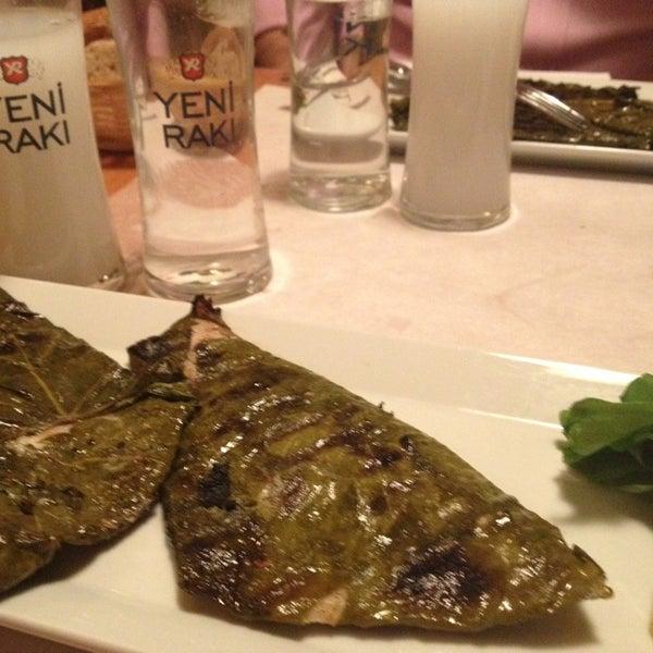 Photo taken at Sıdıka Meze Restoranı by Eray Seçkin K. on 2/1/2013