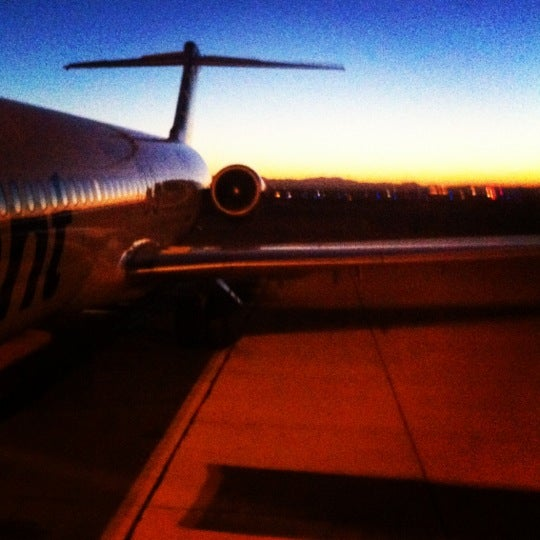 Photo taken at Phoenix-Mesa Gateway Airport (AZA) by Ashley on 10/25/2012