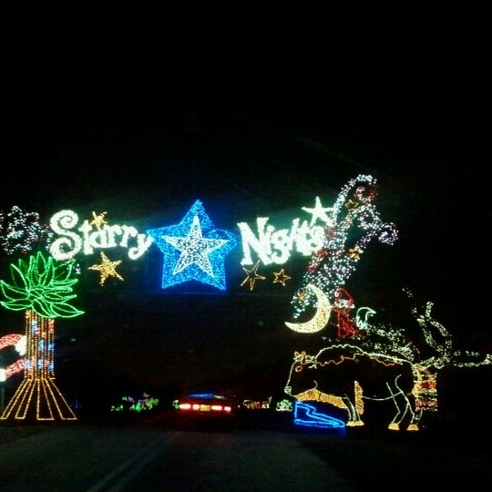 Photo taken at Starry Nights by Brad T. on 12/17/2012