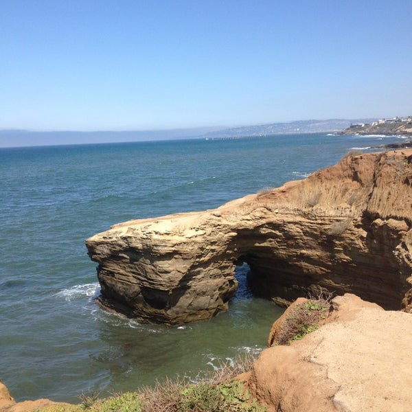 Foto tirada no(a) Sunset Cliffs Natural Park por Justine B. em 3/12/2013