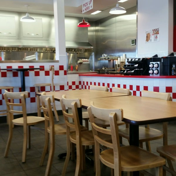 Photo taken at Five Guys by Tony on 10/1/2016