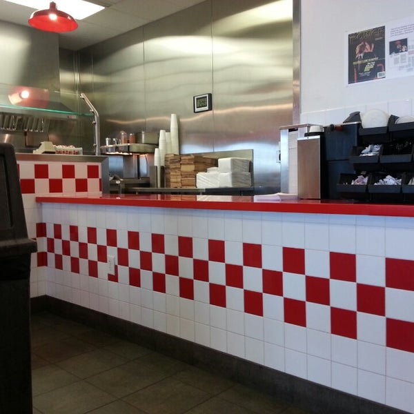 Photo taken at Five Guys by Tony on 6/16/2013