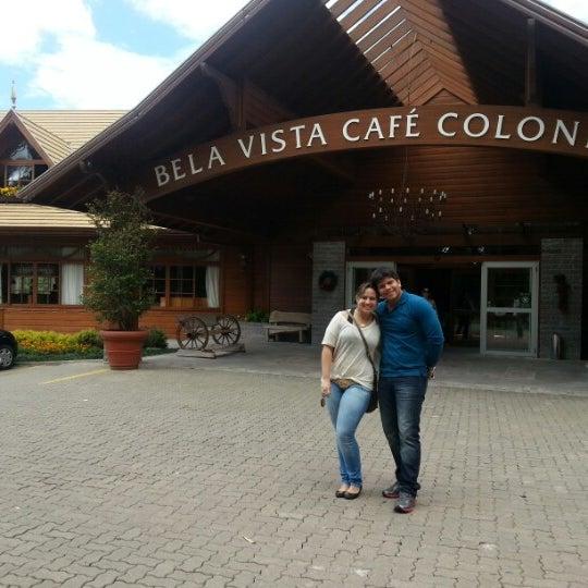 Foto tirada no(a) Bela Vista Café Colonial por Hugo C. em 12/31/2012