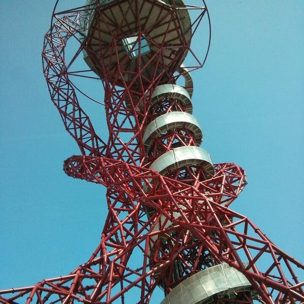 6/6/2013 tarihinde Samy T.ziyaretçi tarafından Queen Elizabeth Olympic Park'de çekilen fotoğraf