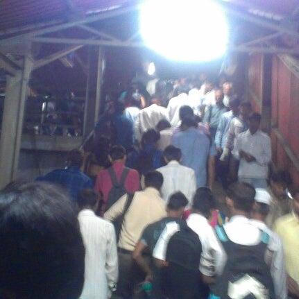 Photo taken at Dadar Railway Station by Harsh M. on 12/14/2012
