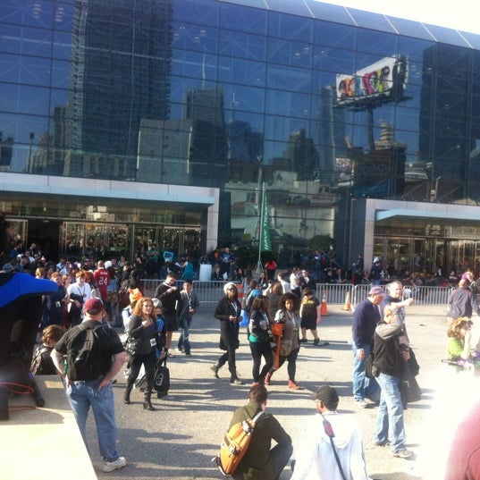 Photo taken at New York Comic Con 2012 by Allah T. on 10/14/2012