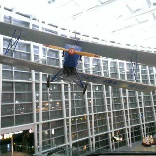 Photo taken at Sea-Tac Airport Parking Garage by Maya on 12/26/2012