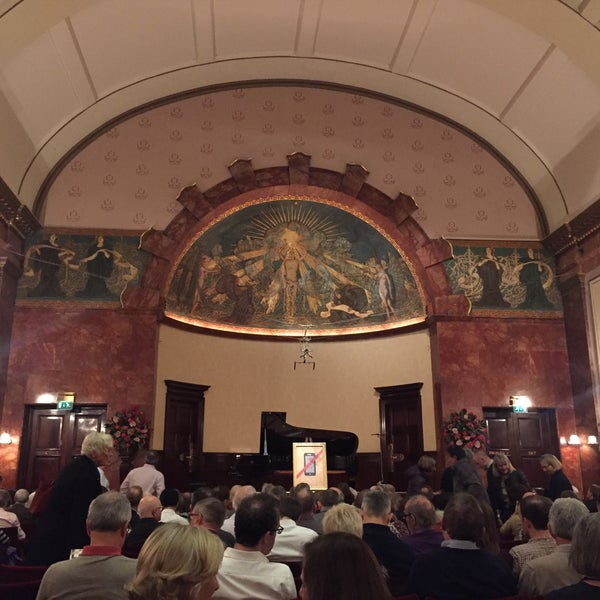 Photo taken at Wigmore Hall by Clea R. on 10/30/2015