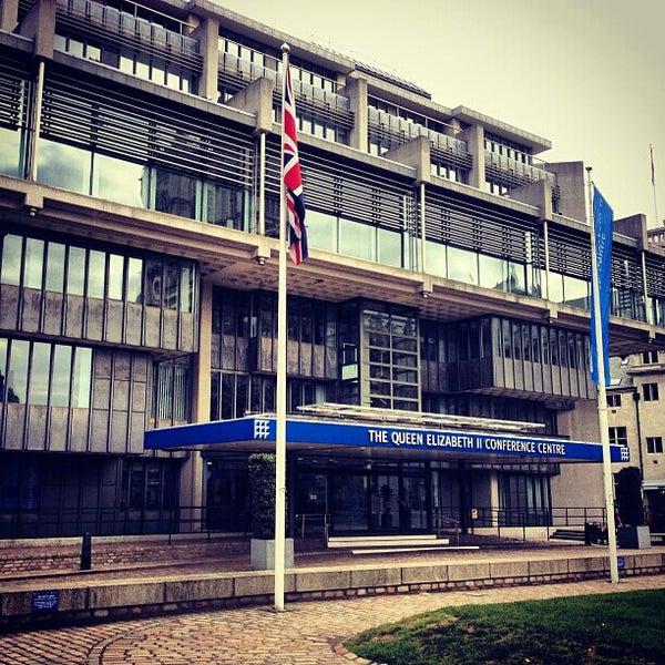 Photo taken at Queen Elizabeth II Conference Centre by Mauricio U. on 2/16/2013