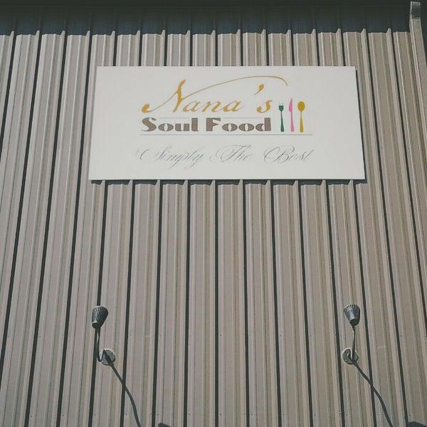 Photo taken at Nana's Soul Food Kitchen by Chris S. on 2/28/2014