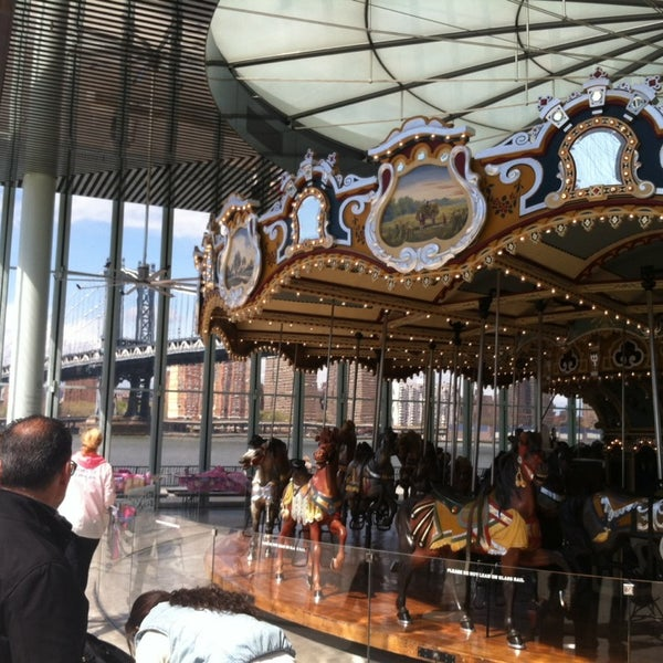 Photo taken at Jane's Carousel by Jessica E. on 5/4/2014
