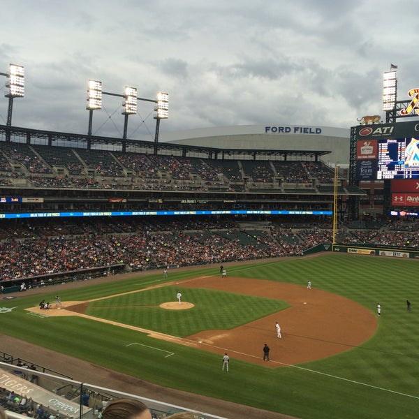 Photo taken at Comerica Park by Greg C. on 6/28/2016