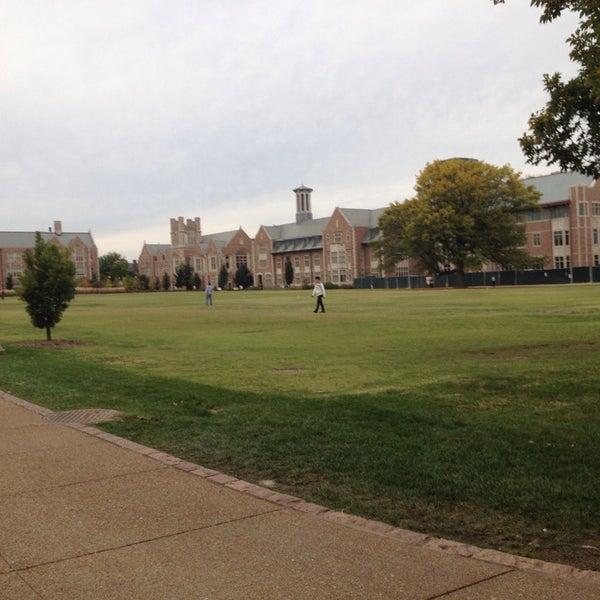 Photo taken at Washington University by Casey on 10/14/2013