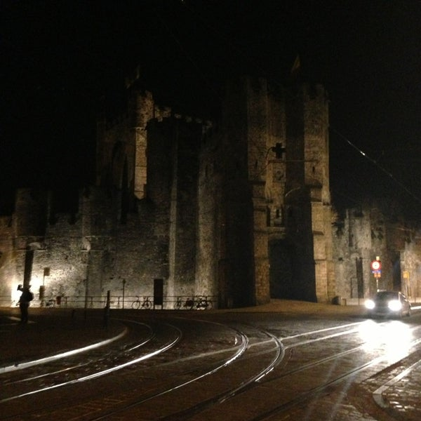Photo taken at Castle of the Counts by Olivier S. on 3/26/2013