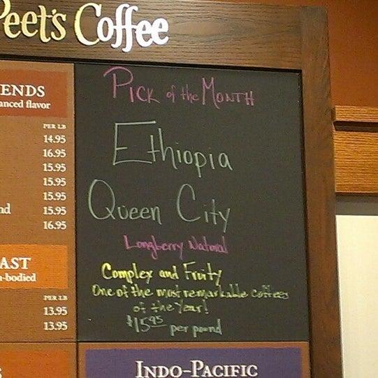 Photo taken at Peet's Coffee & Tea by David F. on 7/29/2013