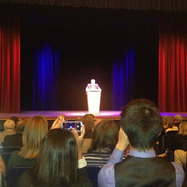Photo taken at Lisner Auditorium by Nancy on 9/16/2013