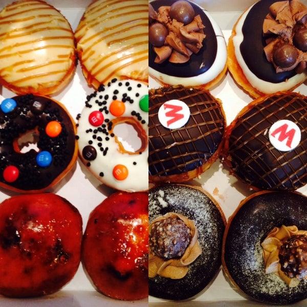 Photo taken at Krispy Kreme by Yanna on 9/28/2013