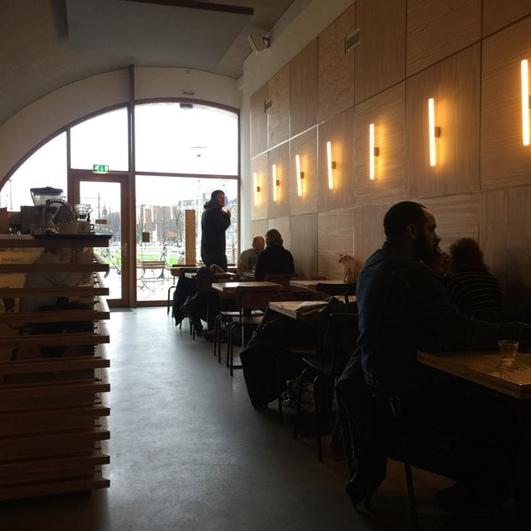 Photo taken at Lokaal Espresso by Gijsbregt B. on 1/15/2016
