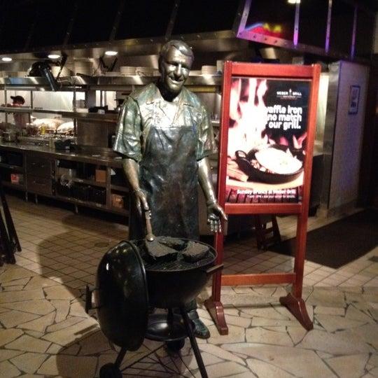 Photo taken at Weber Grill Restaurant by Jordan A. on 10/25/2011