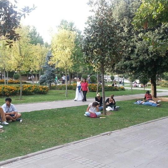 9/16/2013にAynurがTaksim Gezi Parkıで撮った写真