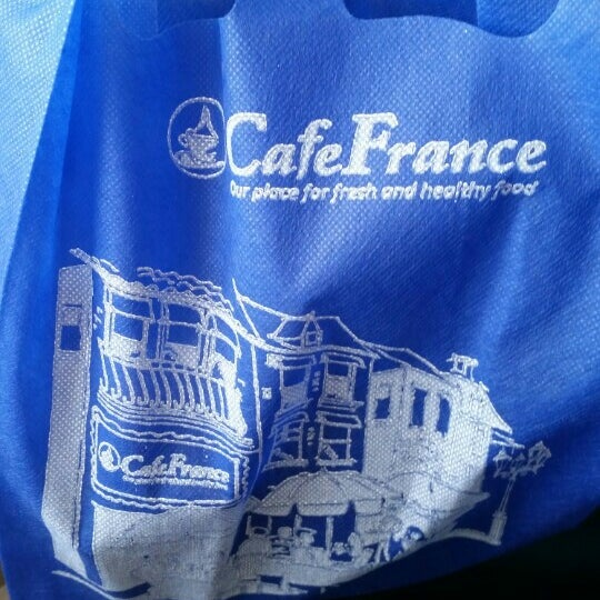 Photo taken at Café France by Oscar P. on 7/3/2015