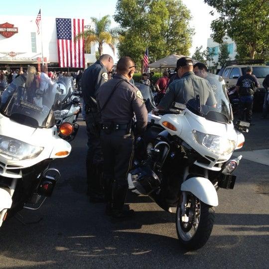 Photo taken at Orange County Harley-Davidson by Roger (Skullman) on 11/2/2012