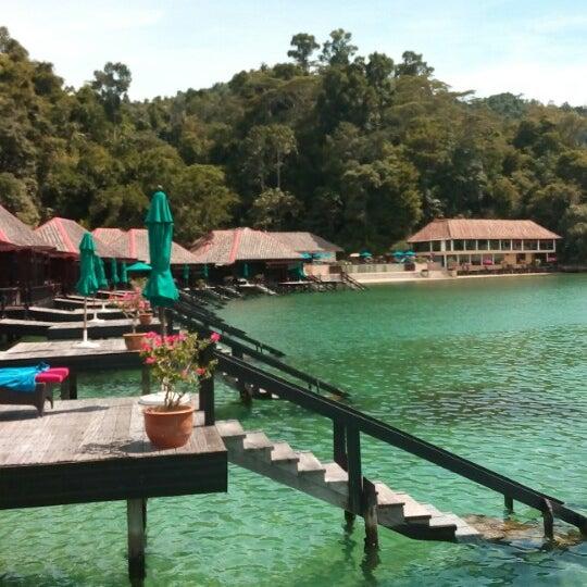 Photo taken at Gayana Eco Resort by Alex P. on 6/2/2014