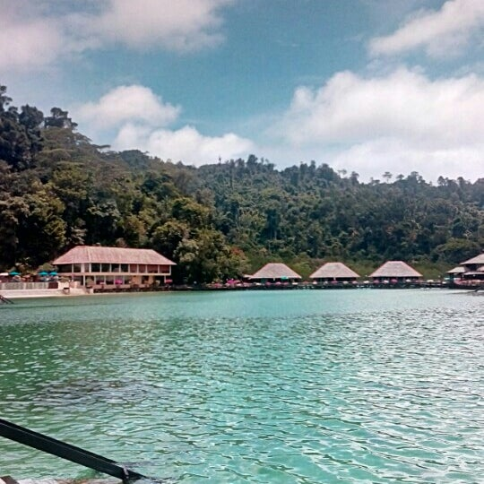 Photo taken at Gayana Eco Resort by Alex P. on 6/1/2014