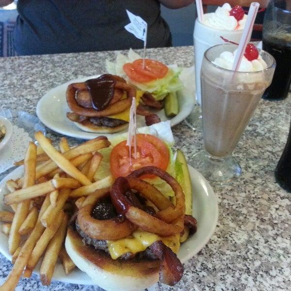 Photo taken at The Original Mel's Diner by Edward . on 3/1/2014