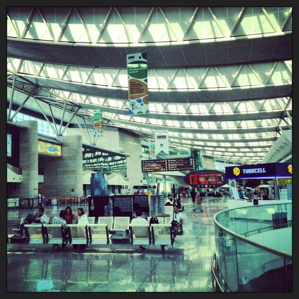 Photo taken at Ankara Esenboğa Airport (ESB) by Osman on 8/11/2013
