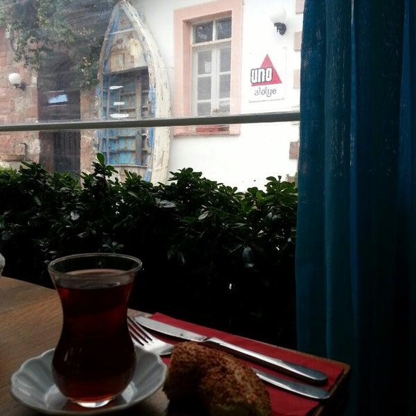 10/17/2013 tarihinde Burcak D.ziyaretçi tarafından Uno Restaurant'de çekilen fotoğraf