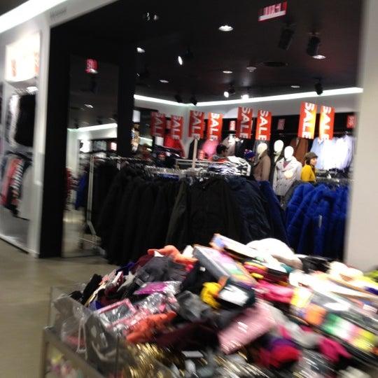 Photo taken at H&M by Elliot C. on 12/8/2012