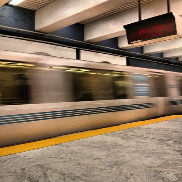 Photo taken at Civic Center/UN Plaza BART Station by Tom P. on 7/13/2013